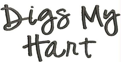 Picture of Digs My Hart alphabet